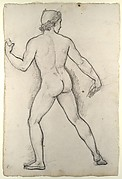 Male Nude, Study for 'Castor and Pollux Freeing Helen'