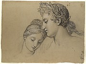 Study of Heads for Study for 'Castor and Pollux Freeing Helen'