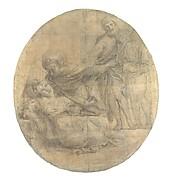 The Martyrdom of Saint Cecilia (Cartoon for a Fresco)