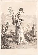 Suite de Figures Chinoises. . . Tiré du Cabinet de Mr. d'Azaincourt