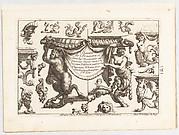 Desseins de Brasiers dont les Ornements peuuent Seruir aux Cuuettes, Tables, et autres Ouurages d'Orfeurerie