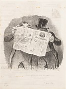 Advice to Subscribers, published in Le Charivari, April 1, 1840