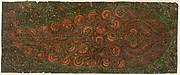 Motif from Kashmir Shawl: Pheerozee (Turquoise Color), No. 23, By Order of Mahummud Azeem Khan