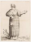 Costume Plate: Woman from Germany