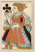Queen of Clubs, from a Set of Piquet Cards