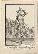 Du Moulin in Peasant Garb Dancing at the Opera