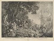 L'Oeuvre D'Antoine Watteau Pientre du Roy en son Academie Roïale de Peinture et Sculpture Gravé d'après ses Tableaux & Desseins originaux...par les Soins de M. de Jullienne