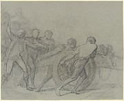 "Study for ""The Enrollment of the Volunteers of 1792"""