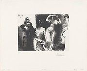 Rembrandtesque Man Seated with Girls, from 347 Suite