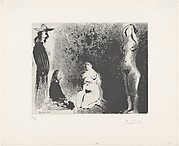 Landscape Painters with Two Nude Models, from 347 Suite