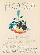 """Picasso """"Les Ménines,"""" Galerie Louise Leiris"""
