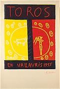 Bulls in Vallauris 1955 (Toros en Vallauris 1955)