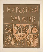 Vallauris Exhibition 1961