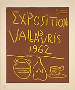 Vallauris Exhibition 1962