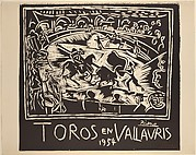 Bulls in Vallauris 1954