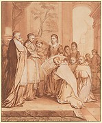 Scene Seven from the Life of the Reverend Jean de la Barrière