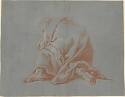 Study of a Draped Figure