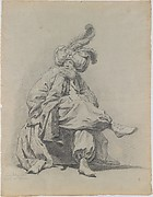 Study of the Costume of Monsieur Clément