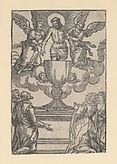 Triumph of the Eucharist (The Man of Sorrows in Chalice with Two Angels)