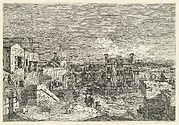 Imaginary View of Venice (undivided plate)