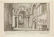 View of the Scala Reggia ordered by Alesandro VII (Vedute Della Scala Reggia ordinata da Alesandro VII)
