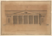 Design of a Greenhouse for the Right Honorable Earl of Coventry, Croome Court, Worcestershire (Elevation)
