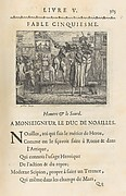Fables Nouvelles, Dedi&#233;es au Roy