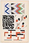 Plate 4 from Sonia Delaunay: ses peintures, ses objets, ses tissus simultanés, ses modes