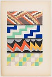 Plate 10 from Sonia Delaunay: ses peintures, ses objets, ses tissus simultanés, ses modes