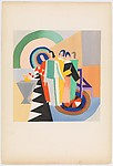 Plate 20 from Sonia Delaunay: ses peintures, ses objets, ses tissus simultanés, ses modes