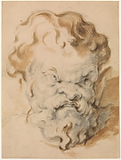 Head of Silenus