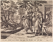 The Banishment of Hagar and Ishmael from The Story of Abraham