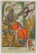 Afrique from Playing Cards (for Quartets) 'Costumes des Peuples Étrangers'