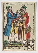 Hab.t de l'Autriche from Playing Cards (for Quartets) 'Costumes des Peuples Étrangers'