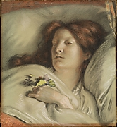 The Convalescent (A Portrait of the Artist's Wife)
