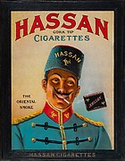 Hassan Cork Tip Cigarettes: The Oriental Smoke