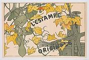 L'Estampe Originale, Cover to Album V