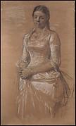 Portrait of Frederikke Tuxen