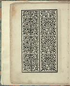 Opera Nova Universali intitulata Corona di racammi, page 18 (verso)