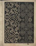 Libbretto nouellamete composto per maestro Domenico da Sera...lauorare di ogni sorte di punti, page 6 (recto)