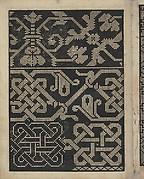 Libbretto nouellamete composto per maestro Domenico da Sera...lauorare di ogni sorte di punti, page 16 (verso)