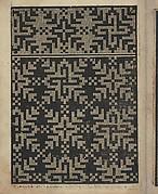 Libbretto nouellamete composto per maestro Domenico da Sera...lauorare di ogni sorte di punti, page 19 (verso)