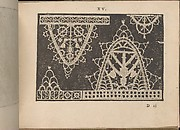 Prima Parte de' Fiori, e Disegni di varie sorti di Ricami Moderni, page 15 (recto)