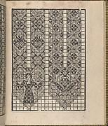 Giardineto novo di punti tagliati et gropposi per exercitio & ornamento delle donne (Venice 1554), page 9 (recto)