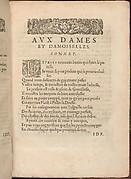 Les Secondes Oeuvres, et Subtiles Inventions De Lingerie du Seigneur Federic de Vinciolo Venitien, page 4 (recto)