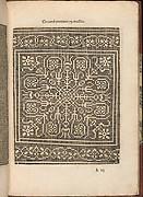Les Secondes Oeuvres, et Subtiles Inventions De Lingerie du Seigneur Federic de Vinciolo Venitien, page 19 (recto)