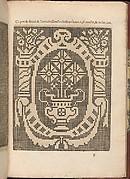Les Secondes Oeuvres, et Subtiles Inventions De Lingerie du Seigneur Federic de Vinciolo Venitien, page 21 (recto)