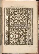 Les Secondes Oeuvres, et Subtiles Inventions De Lingerie du Seigneur Federic de Vinciolo Venitien, page 33 (recto)