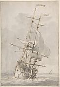 A Ship at Sea