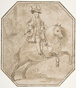 Charles II of Spain on Horseback